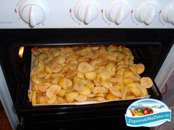 Как правильно сушить груши в духовке и электросушилке