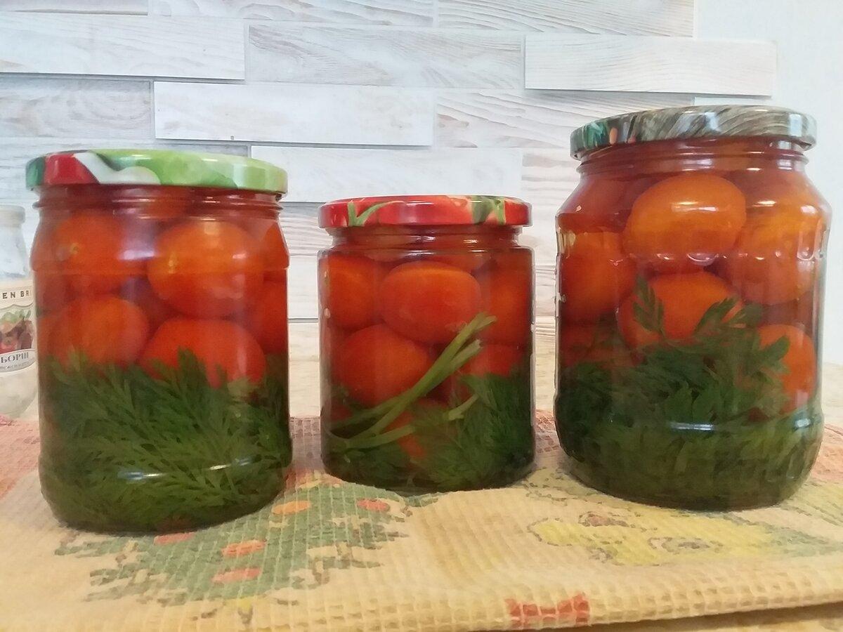 Помидоры с морковной ботвой на литровую банку рецепт с фото пошагово и видео - 1000.menu