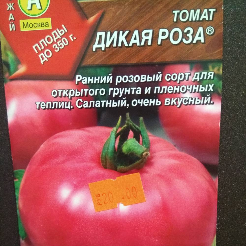 Сорт томата дикая роза: описание, характеристика