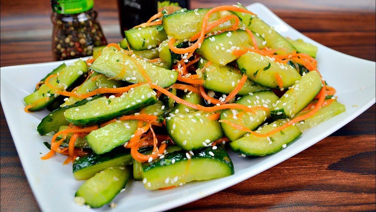Огурцы по-корейски на зиму: самые вкусные рецепты