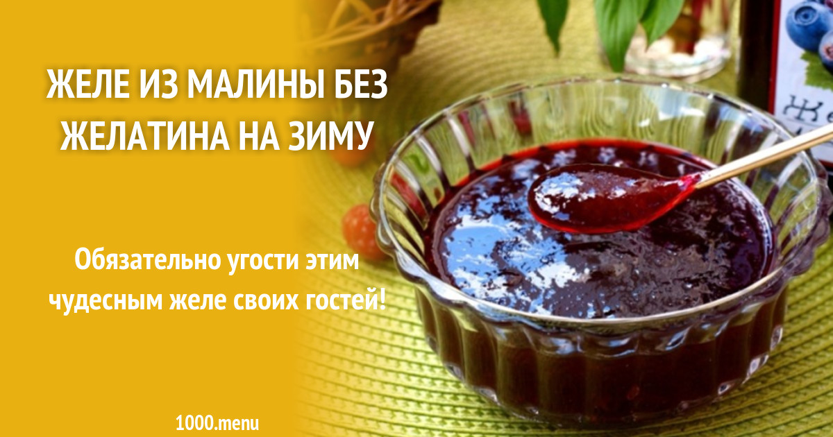 ТОП 9 пошаговых рецептов приготовления малинового варенья с желатином на зиму