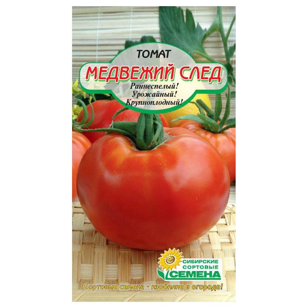 Томат медвежий след: характеристика и описание сорта с фото, урожайность помидора, отзывы