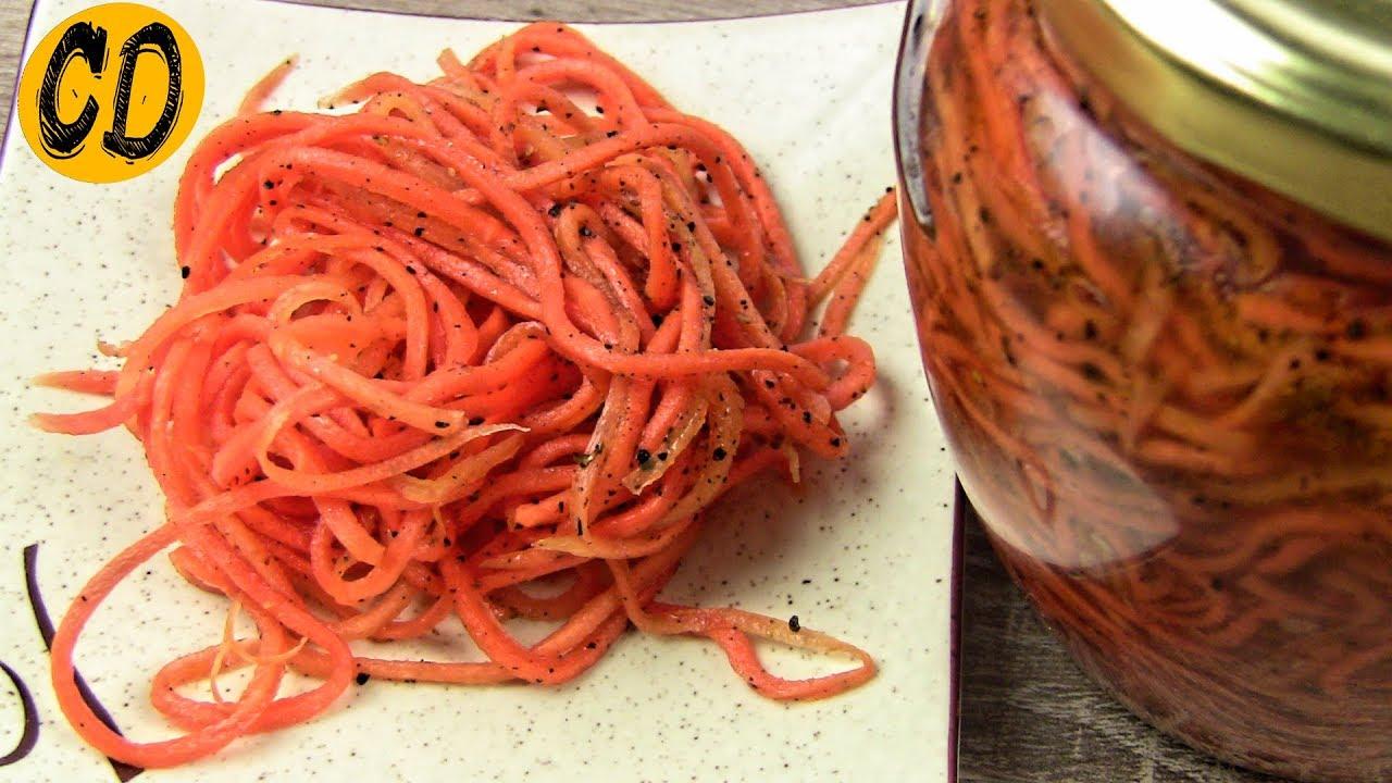 Морковь по-корейски на зиму в банках: рецепты с фото