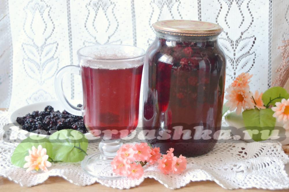 Компот из сливы на зиму - 8 простых рецептов