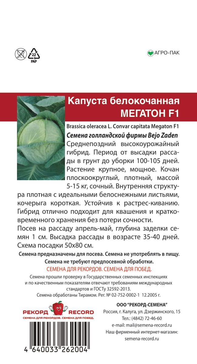 Капуста мегатон: описание сорта, выращивание и уход, фото, отзывы