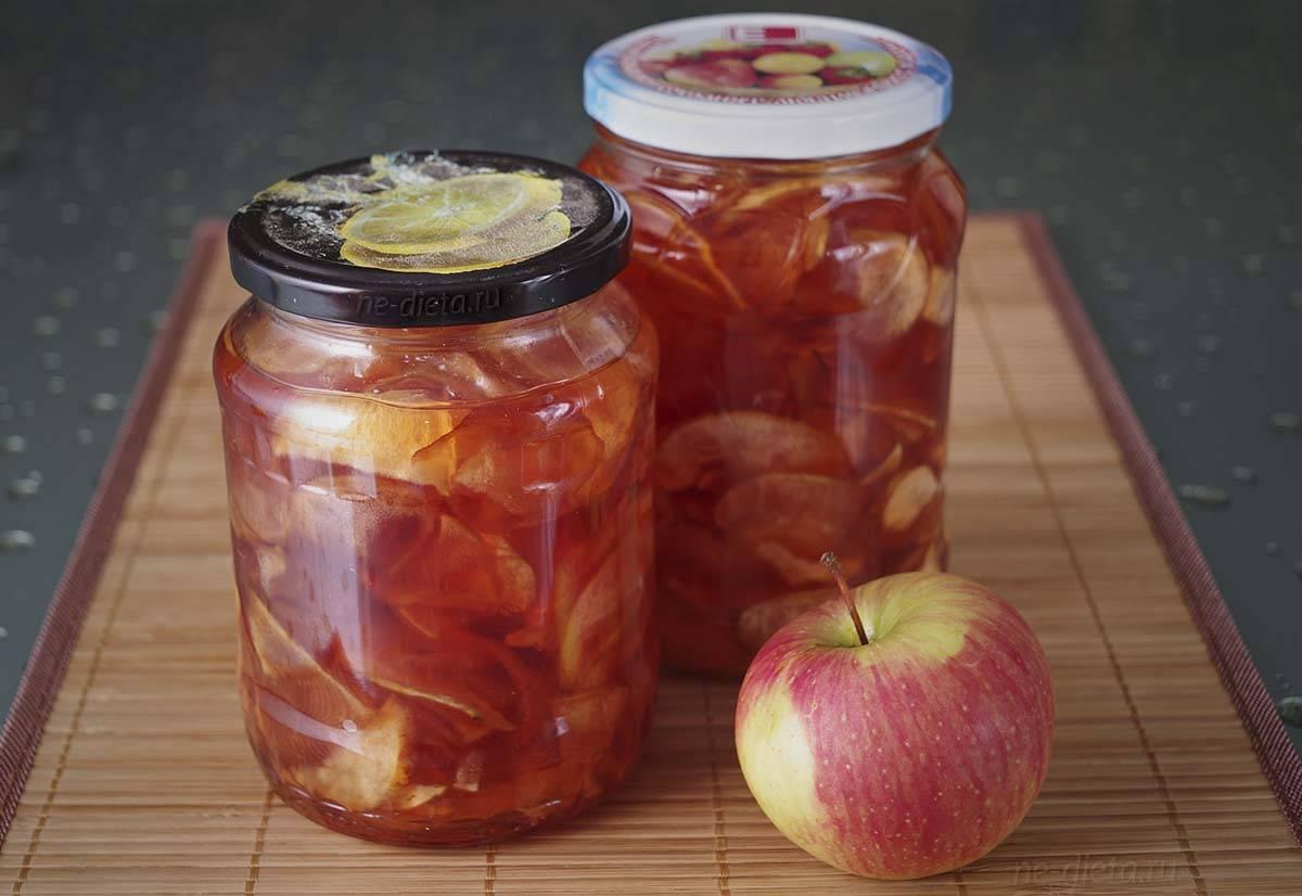 Пятиминутка из яблок на зиму – изумительный, богатый витаминами десерт. лучшие рецепты пятиминутки из яблок на зиму
