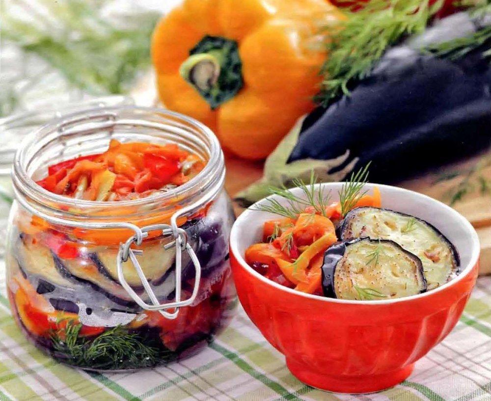 Жареные баклажаны с чесноком на зиму – лучшие рецепты