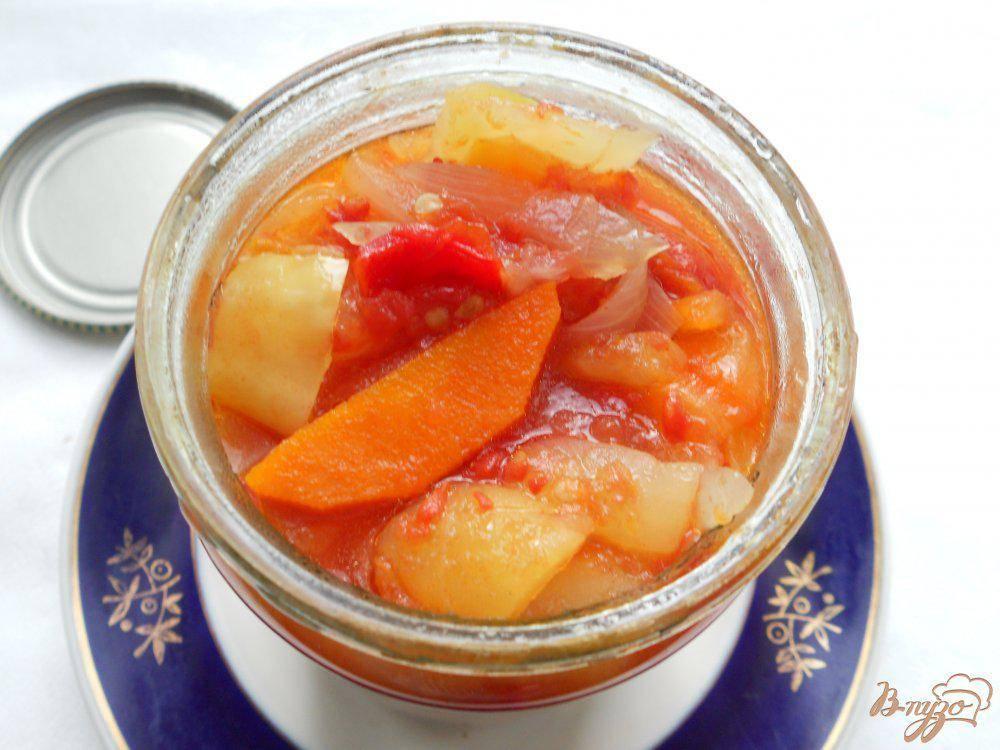 Лечо с морковью на зиму – пальчики оближешь