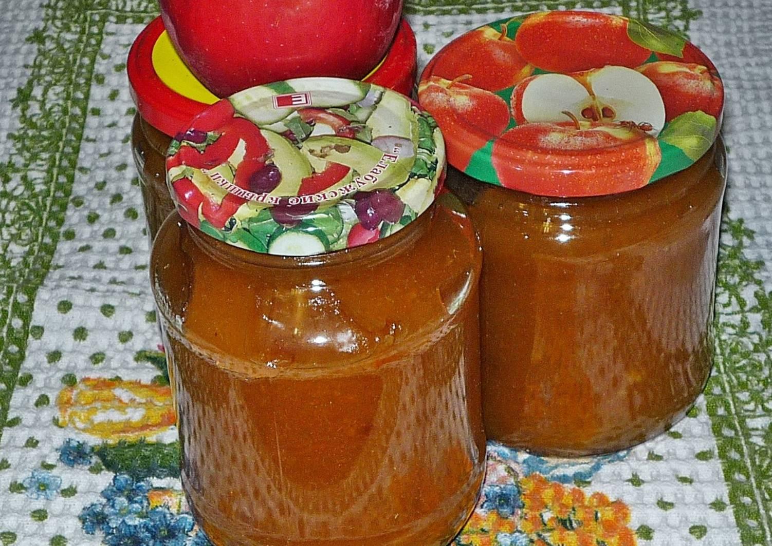 4 быстрых рецепта приготовления повидла из яблок, порезанных дольками, на зиму
