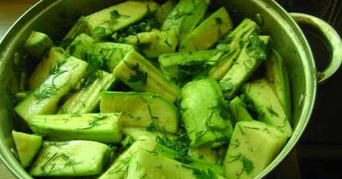 Маринованные кабачки с уксусом на зиму: топ-8 вкуснейших рецептов