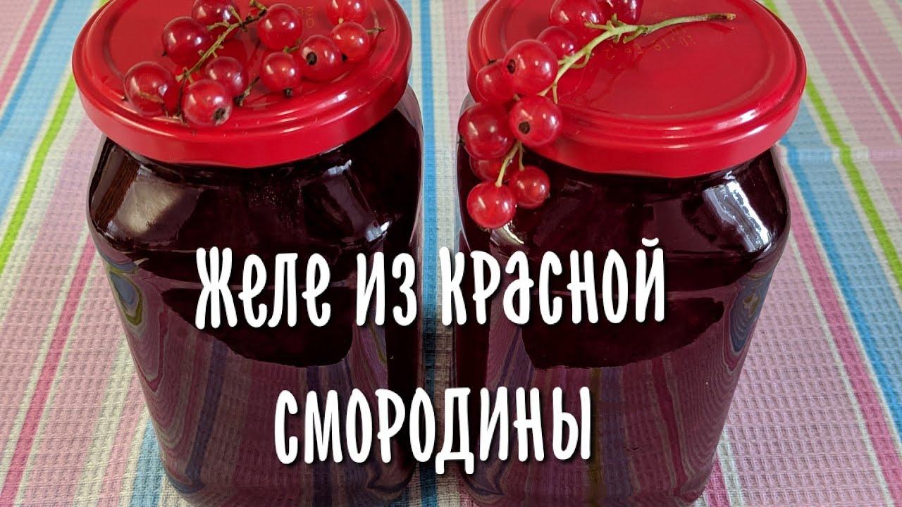 Как приготовить вкусный джем из красной смородины на зиму?