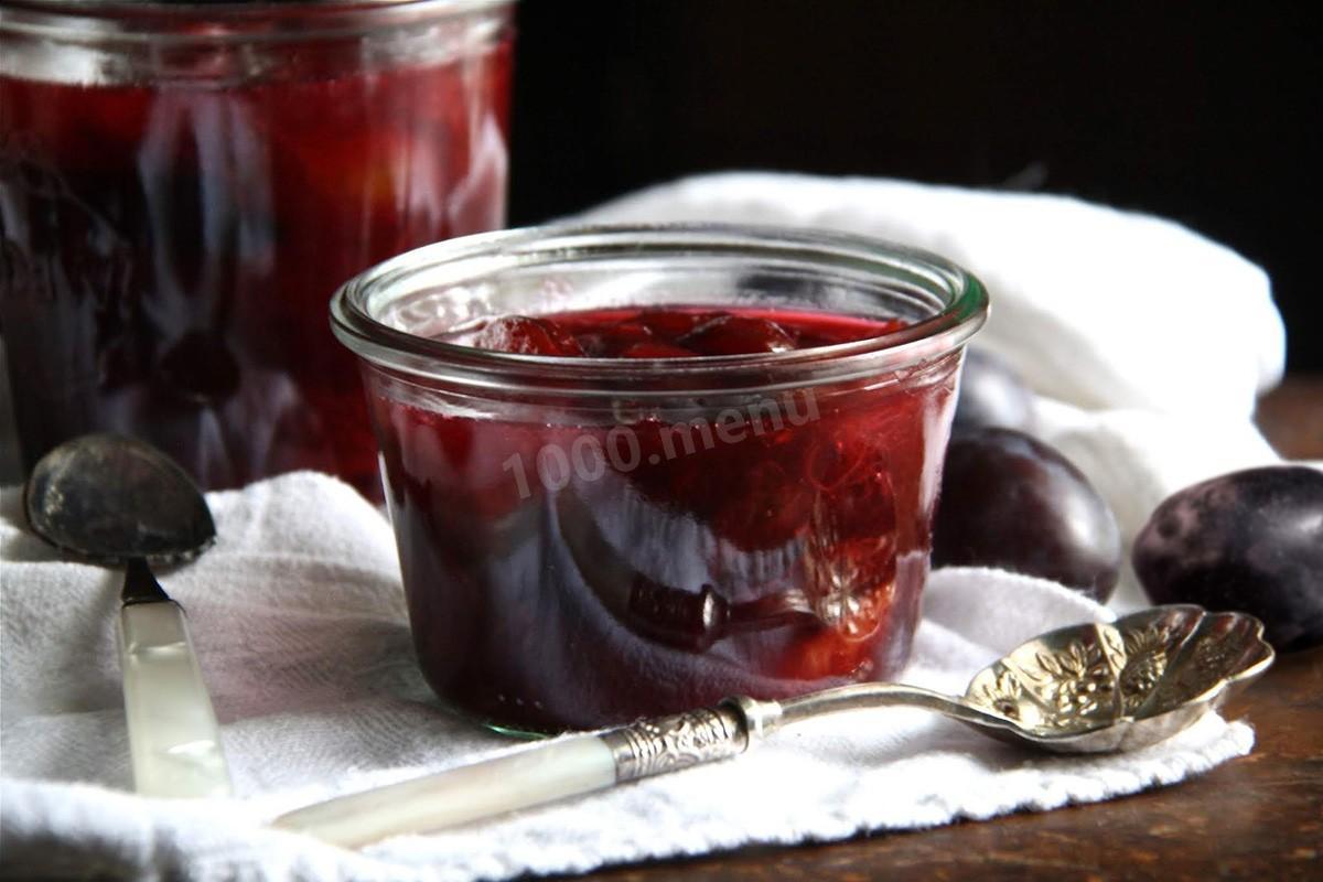Варенье из сливы без косточек на зиму: простые рецепты, пошагово с фото