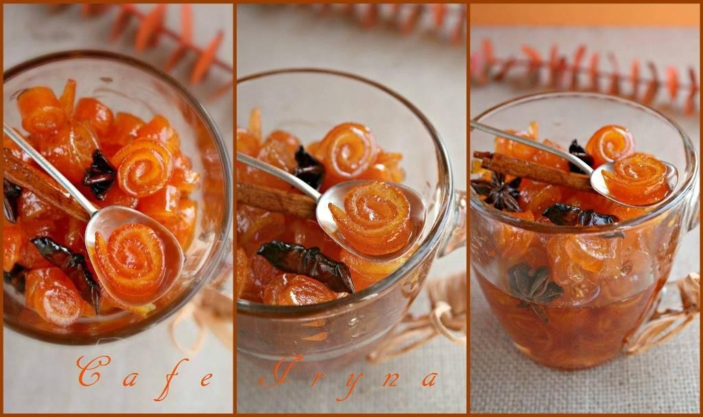 Цукаты из апельсиновых корок рецепт с фото пошагово и видео - 1000.menu