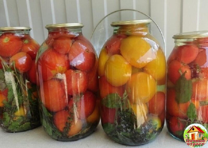 Оригинальные рецепты на зиму: маринованные помидоры с медом, видео