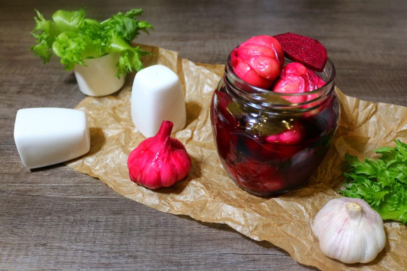 Маринованный чеснок на зиму — простые рецепты в домашних условиях