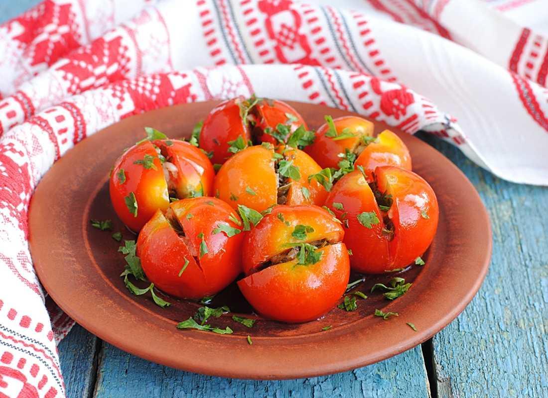 Самые вкусные рецепты помидоров по-грузински на зиму быстрого приготовления - всё про сады