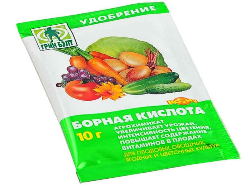 Борная кислота для перца: здоровые растения и богатый урожай