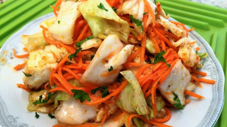 Легкие рецепты приготовления маринованной капусты по-корейски и фото блюд