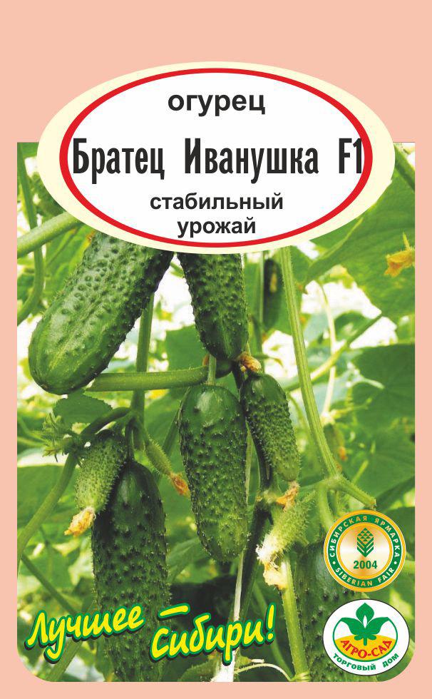 Огурец братец иванушка f1: описание и отзывы, выращивание и уход, урожайность