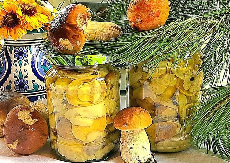 Как мариновать белые грибы на зиму в банках? простые рецепты маринованных белых грибов