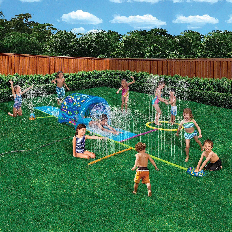 Лучшие детские водные аттракционы для дачи