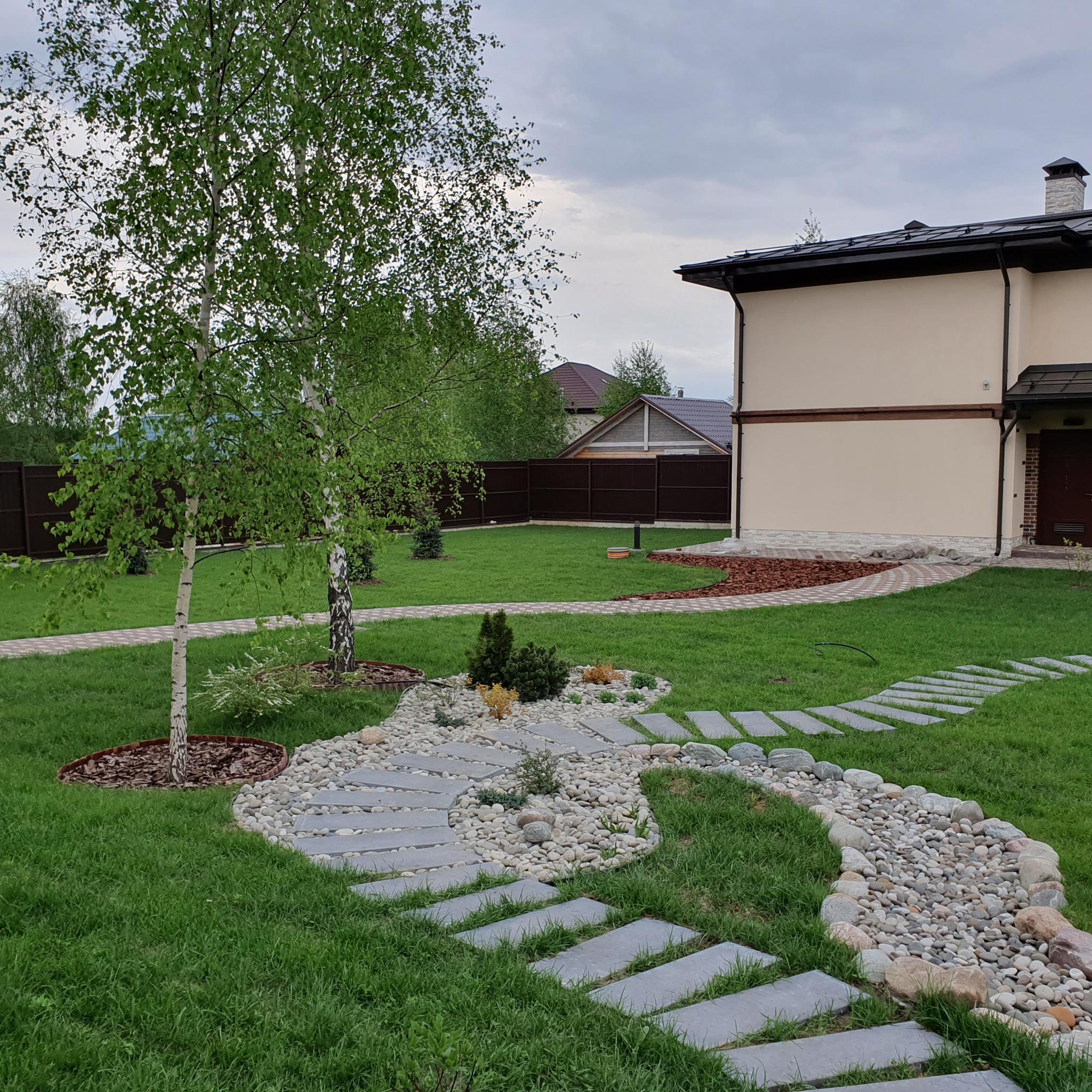 Благоустройство дачного участка (77 фото): примеры обустройства территории площадью 6 соток, маленькие зоны отдыха