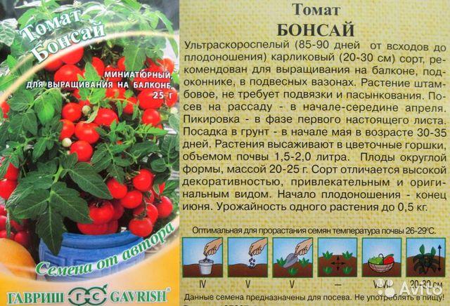 """Томат """"бонсай"""": характеристика и описание сорта, отзывы, фото, урожайность"""