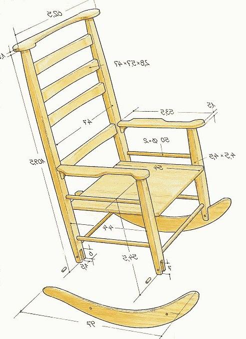Кресло качалка своими руками из фанеры: чертежи и размеры, необходимые инструменты и материалы, пошаговая инструкция, как сделать из металла