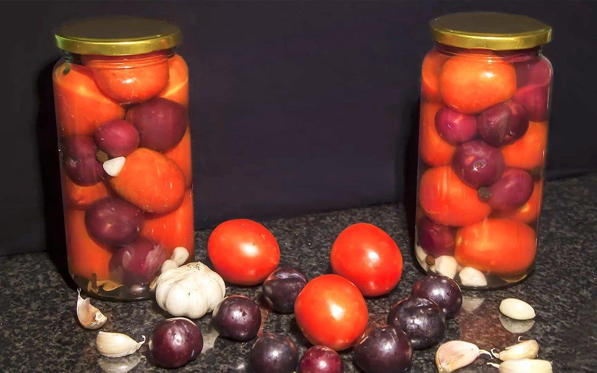 Помидоры на зиму с уксусом — 10 интересных рецептов: с яблочным, винным, обычным уксусом