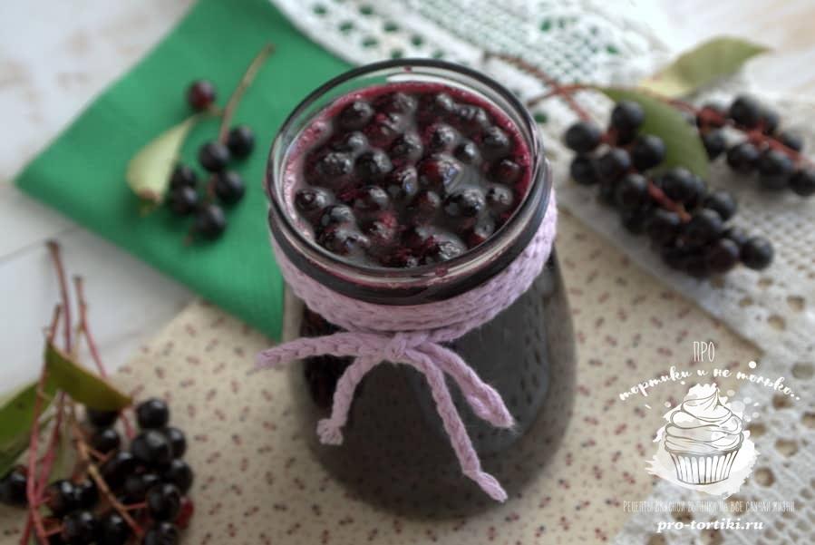 Красная черемуха: рецепты на зиму, что можно приготовить, заготовки с фото