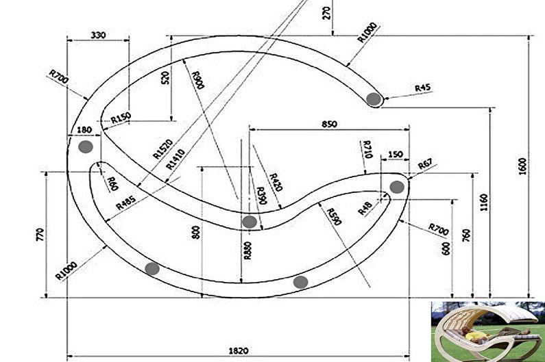 Кресло-качалка своими руками: пошаговое руководство по изготовлению