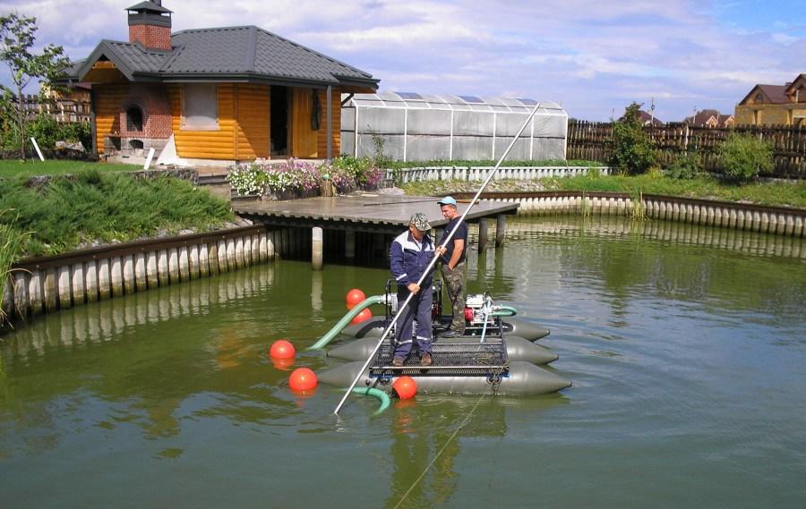Очистка водоемов: 80 фото проверенных методов обработки водоема