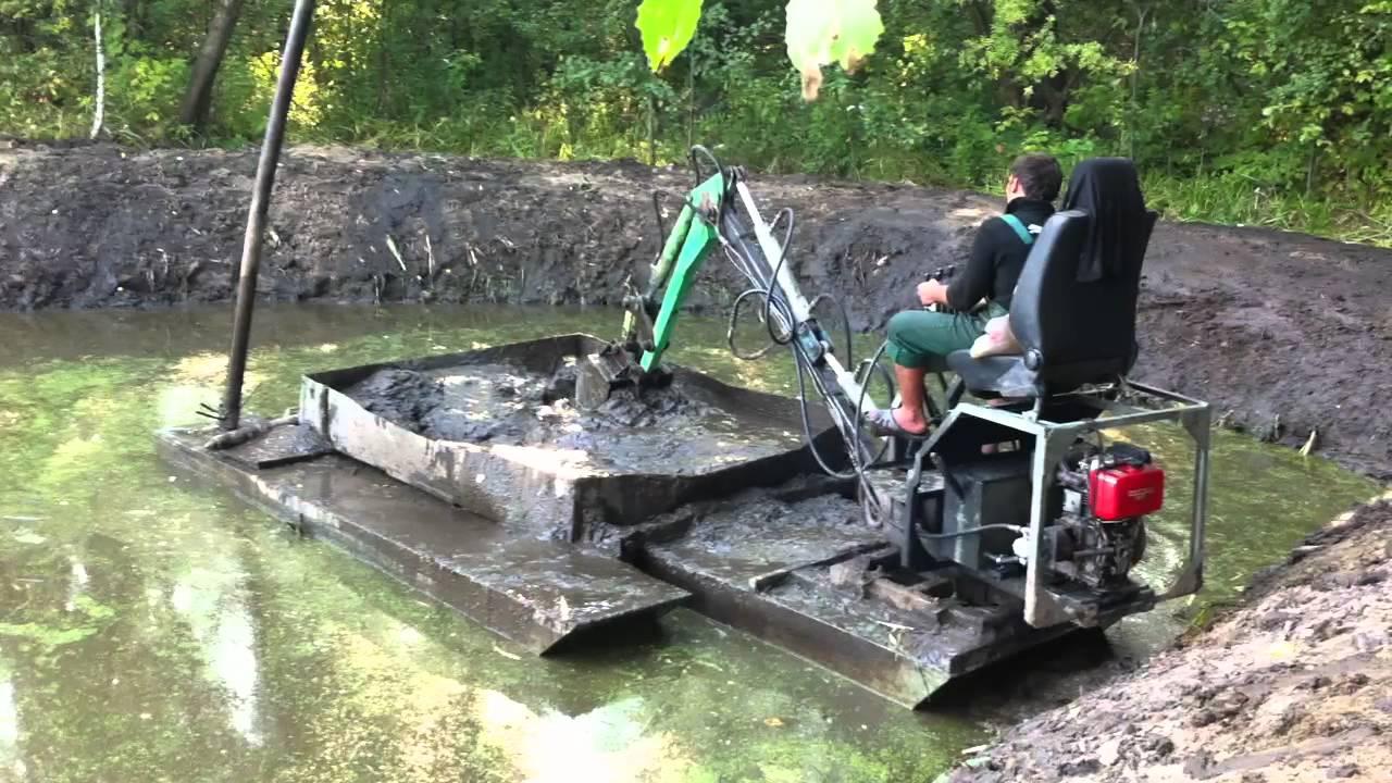 Способы очистки прудов и водоемов | очистка прудов, рек, водоемов