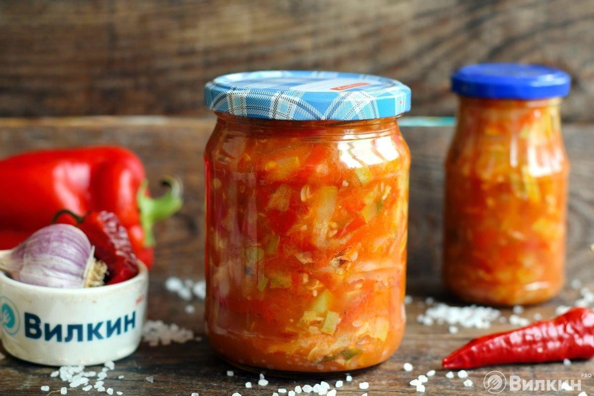 Анкл бенс из кабачков - салат (соус) на зиму, рецепт