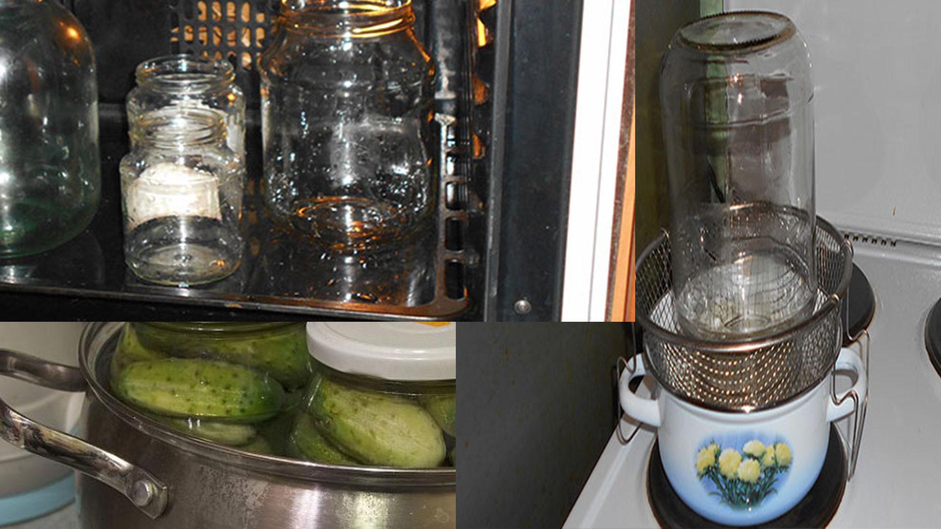 Стерилизация банок и крышек. как стерилизовать банки и крышки для закатки   чудо-повар