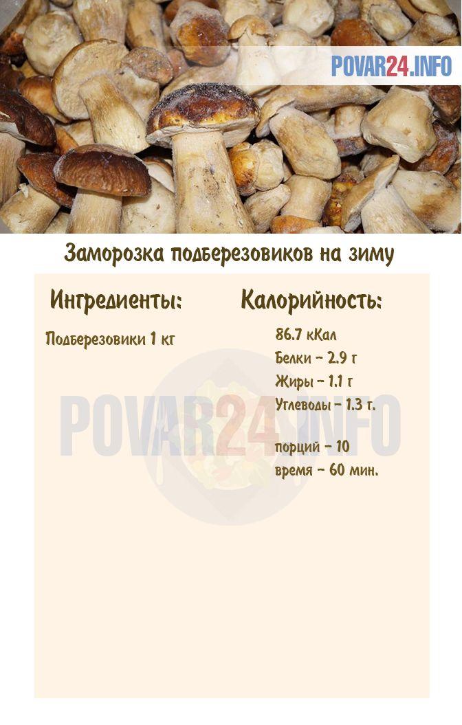 Как заморозить грибы - рецепт с пошаговыми фото | меню недели