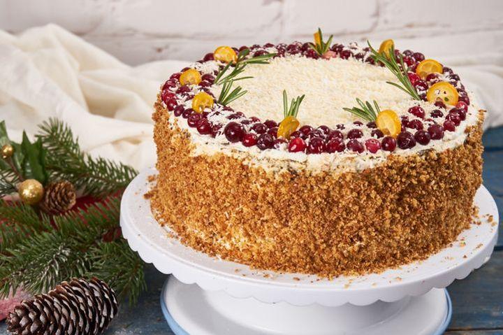 Интересные торты на новый 2020 год — рецепты новогодних тортов в домашних условиях