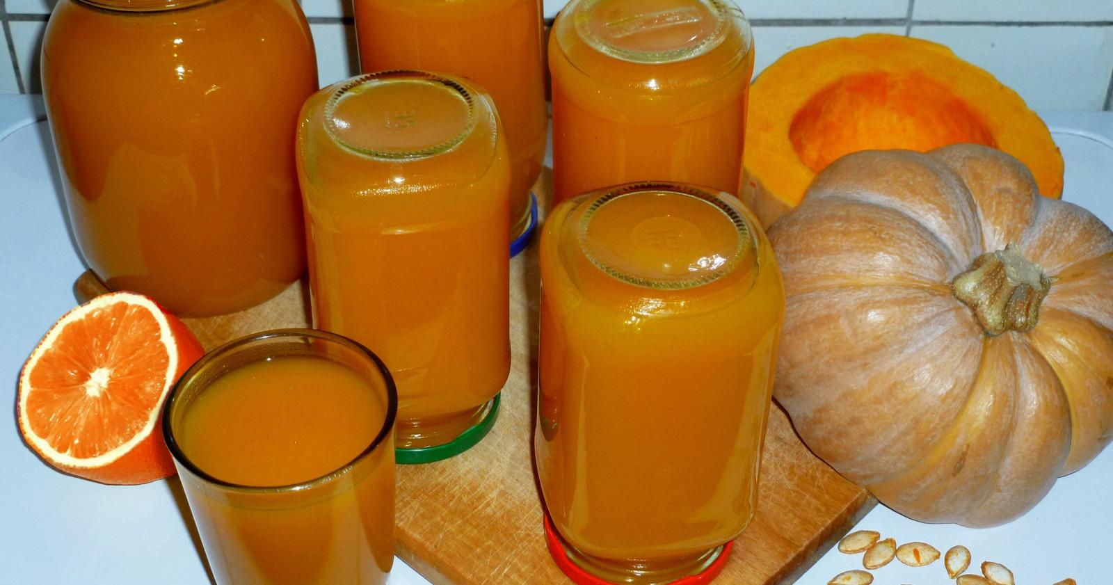 Тыквенный сок в домашних условиях на зиму – рецепты, полезные свойства и секреты приготовления - рецепт с фото пошагово
