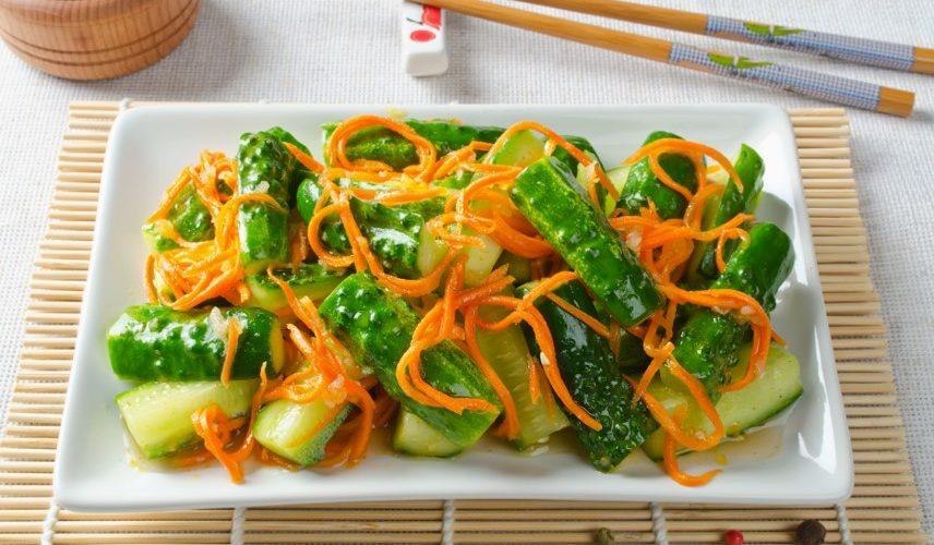 Огурцы по-корейски на зиму – 7 самых вкусных и быстрых рецептов приготовления