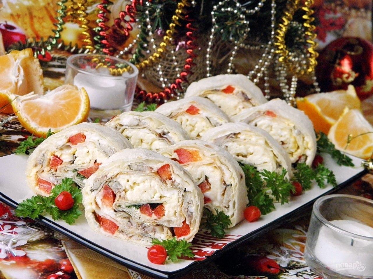 Рождество — меню для рождественского стола, что приготовить