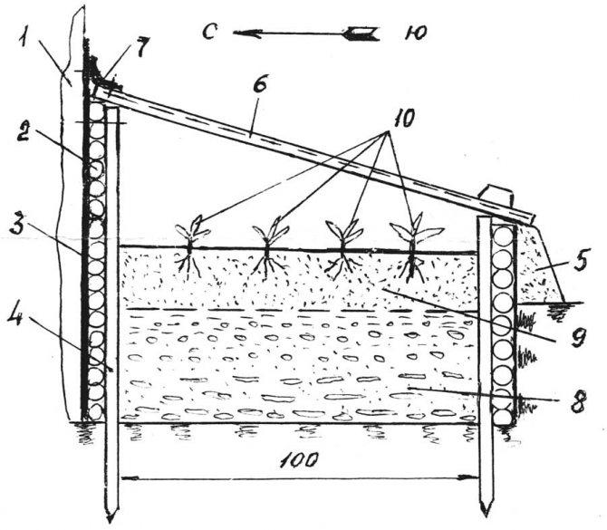 Как самостоятельно построить теплицу-термос