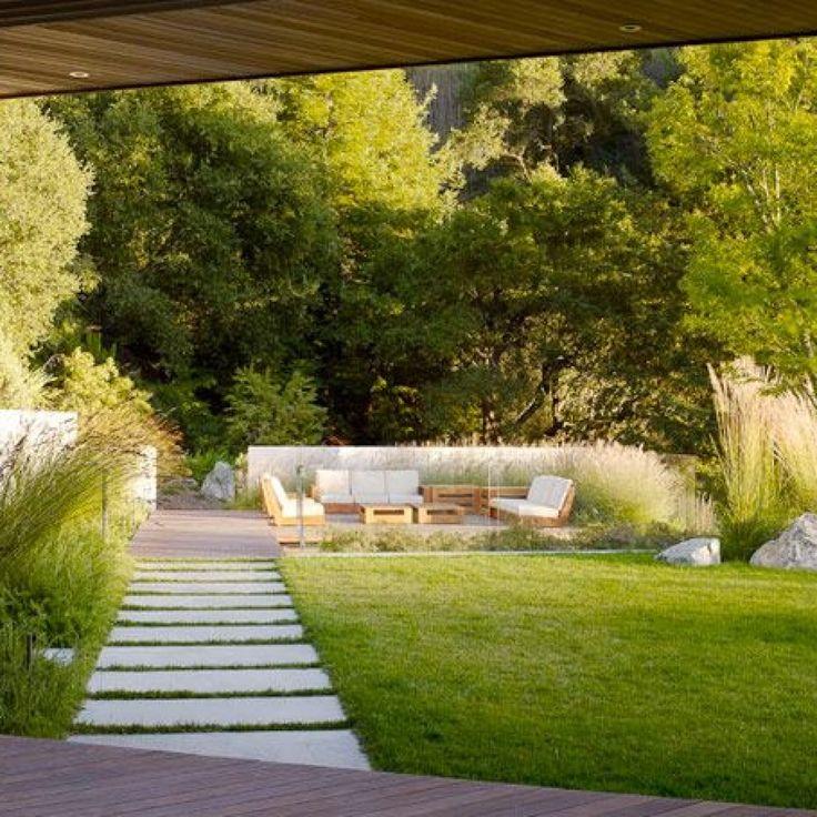 Минимализм — стиль в ландшафтном дизайне: история, фото и схемы, планировка дачного участка, современный загородный дом