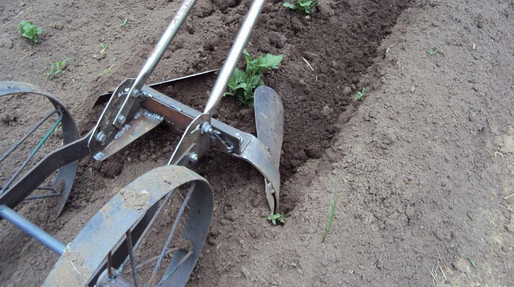 Приспособления для посадки картофеля своими руками — излагаем подробно