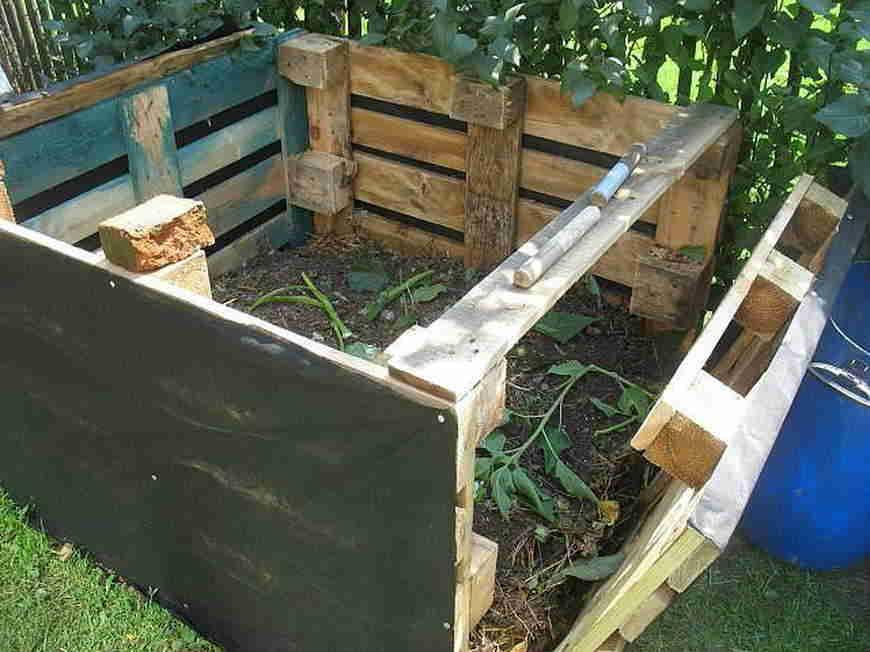 Особенности организации компостной кучи