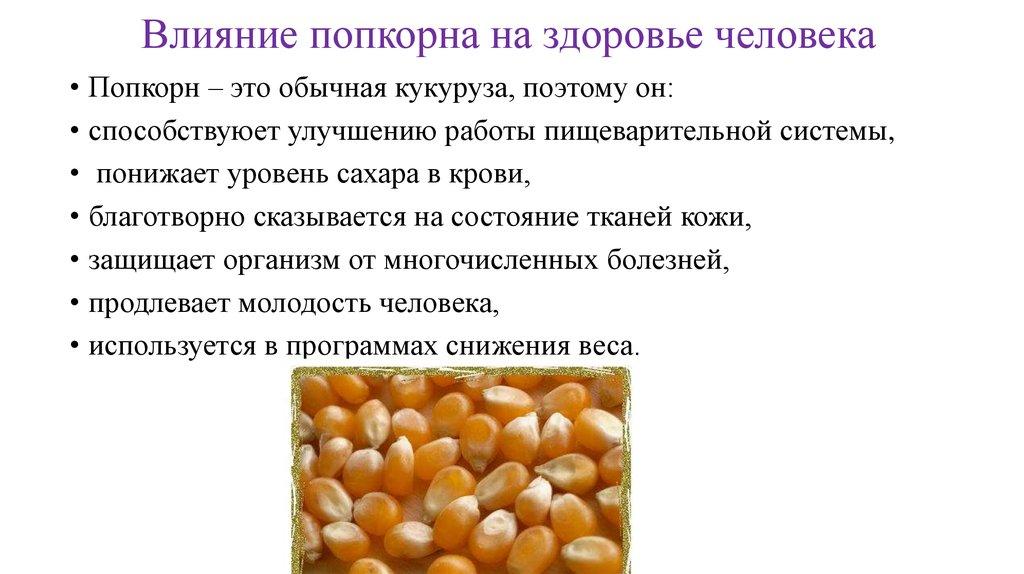 Кукуруза: полезные свойства и противопоказания для женщин и мужчин