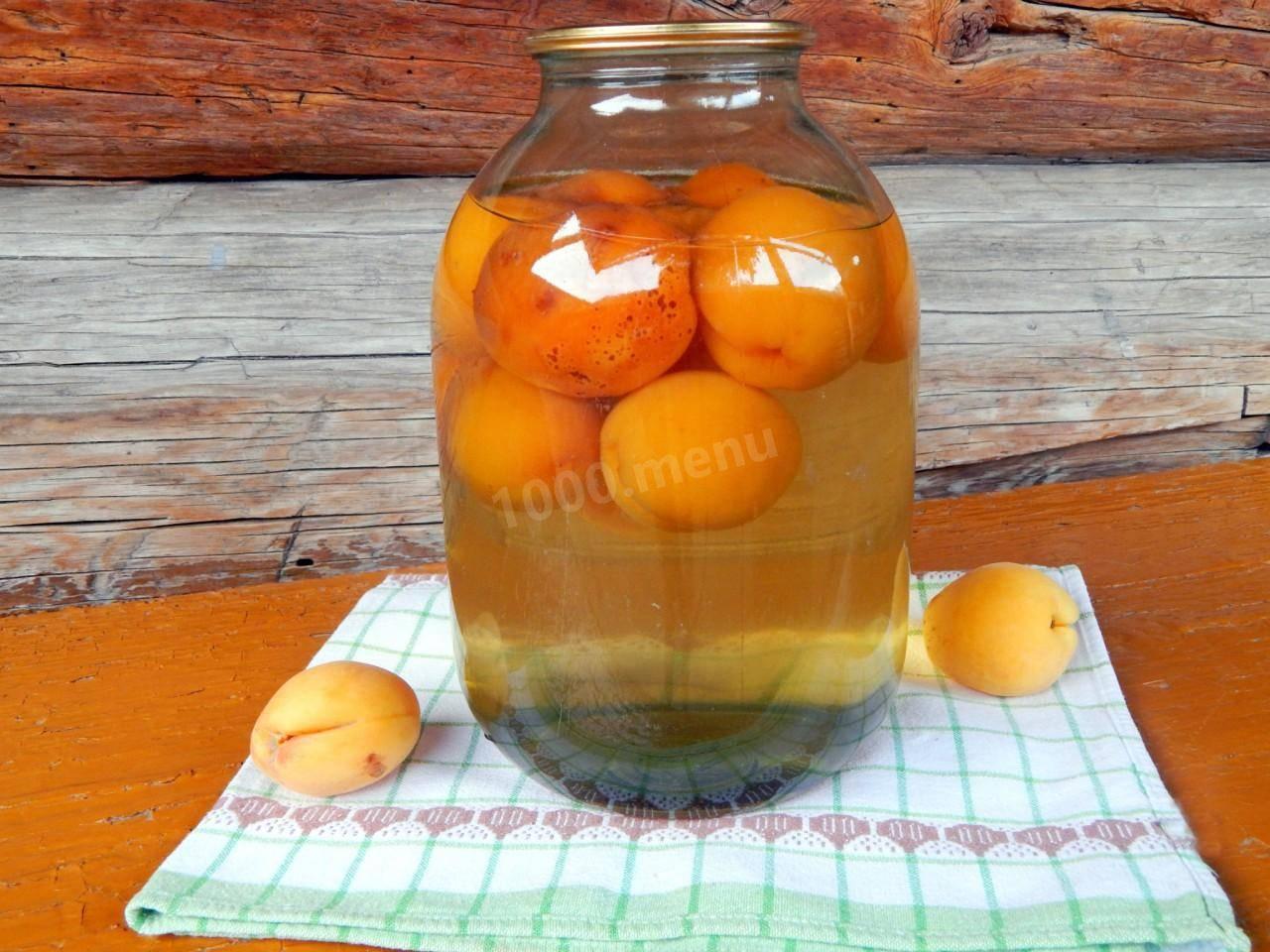 Компоты из абрикосов без косточек и с косточками: рецепты