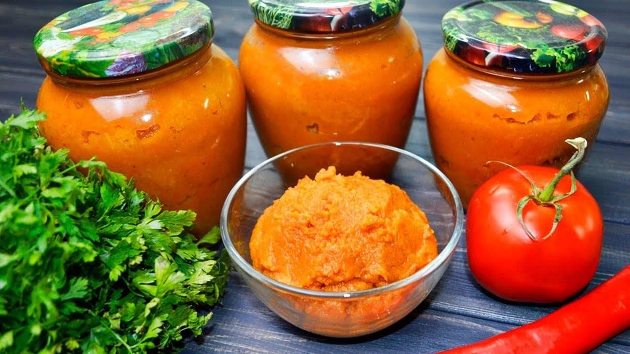 Икра из помидоров на зиму пальчики оближешь: 7 рецептов приготовления в домашних условиях