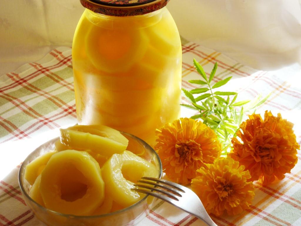 Кабачки как ананасы на зиму: рецепт заготовок с алычой, лимоном и другими ингредиентами