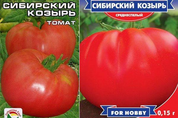Томат сибирский козырь описание сорта характеристика - журнал садовода ryazanameli.ru