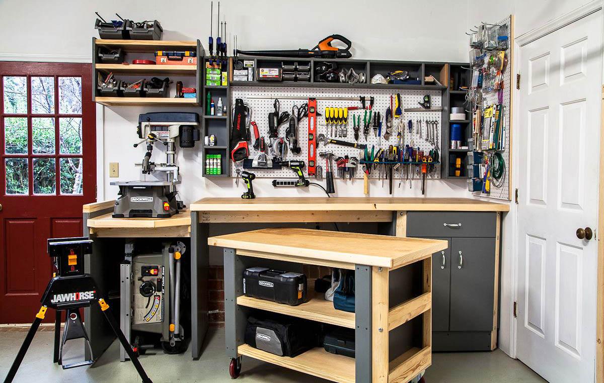 30+ примеров организации пространства в гараже, которые по достоинству оценят перфекционисты